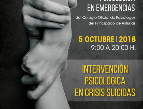 V Jornada de intervención psicológica en emergencias