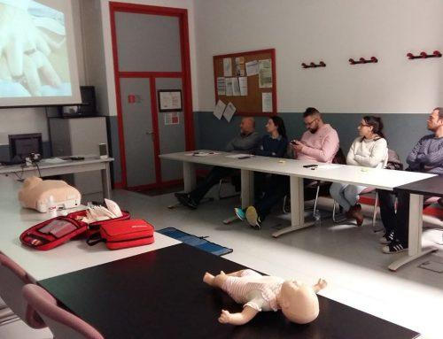 IEDUCAE imparte dos cursos de Primer Interviniente ante una emergencia en la Fundación Laboral de la Construcción