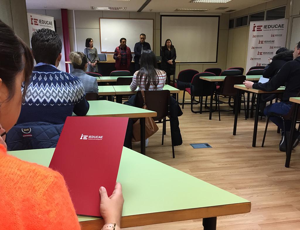 Última entrega de notas para los alumnos de la 1ª Promoción de Formación Profesional de TES de IEDUCAE