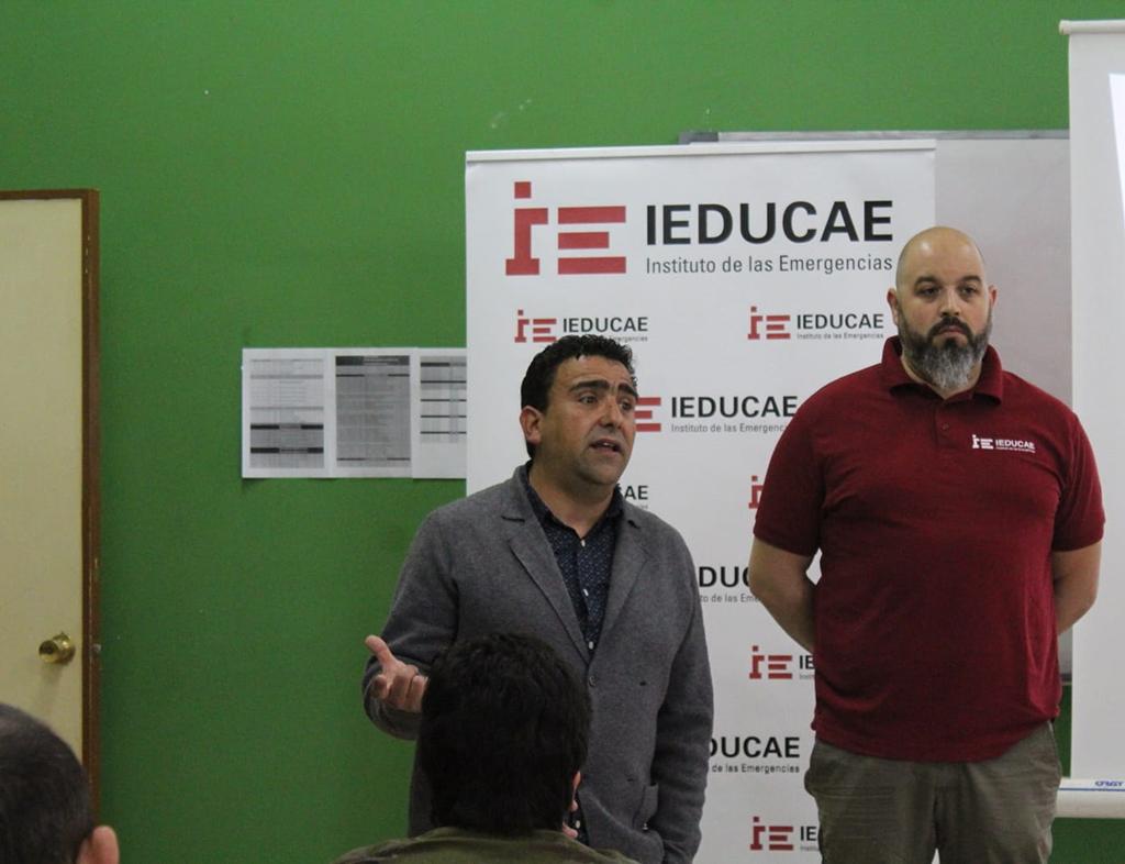 """Presentación del Certificado de Profesionalidad de Transporte Sanitario en el Acuartelamiento """"Cabo Noval"""""""
