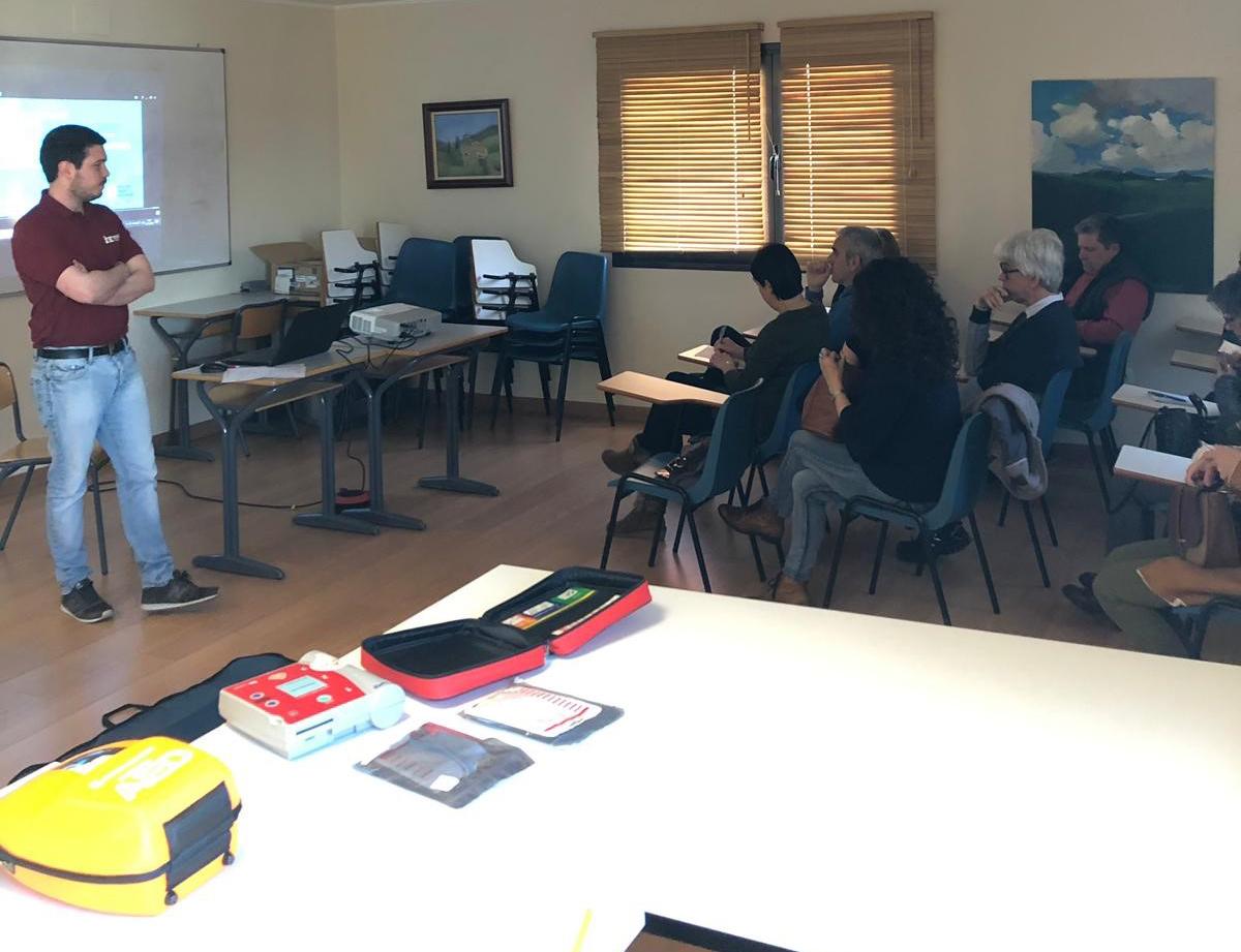 Curso Salvacorazones: RCP-DEA en el Ayuntamiento de Corvera