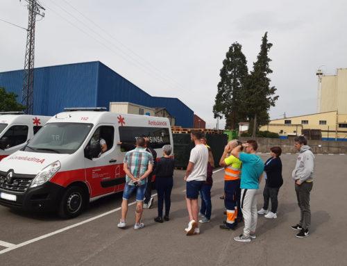 """Los TES de TRANSINSA participan en el curso """"Conducción Segura y Eficiente"""" de IEDUCAE"""