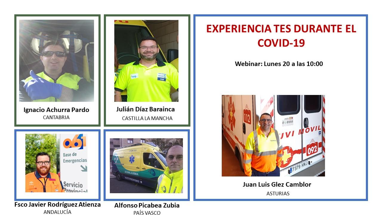 Webinar Experiencia TES durante el COVID-19