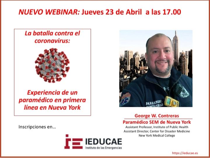 Webinar internacional con George Contreras