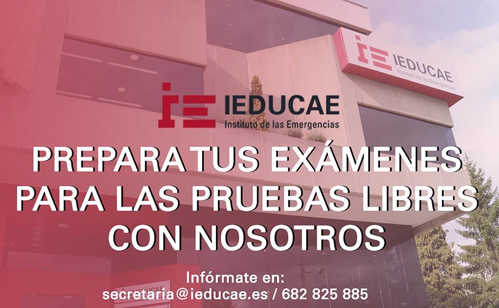 Prepara tus exámenes de pruebas libres con IEDUCAE